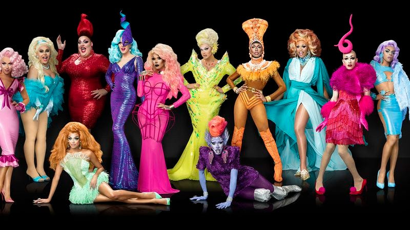Illustration for article titled Drag Race ends the competition with strong performances and a weak runway