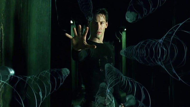 Whoa. The Matrix is coming to streaming.