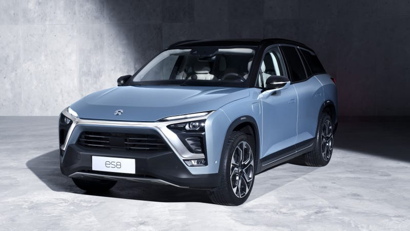 Illustration for article titled Chinese Electric Car Startup NIO Cancels Factory Plans After $1.4 Billion Loss