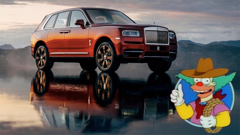 Illustration for article titled Here's The Rolls-Royce Canyonero Commercial You've All Been Imagining