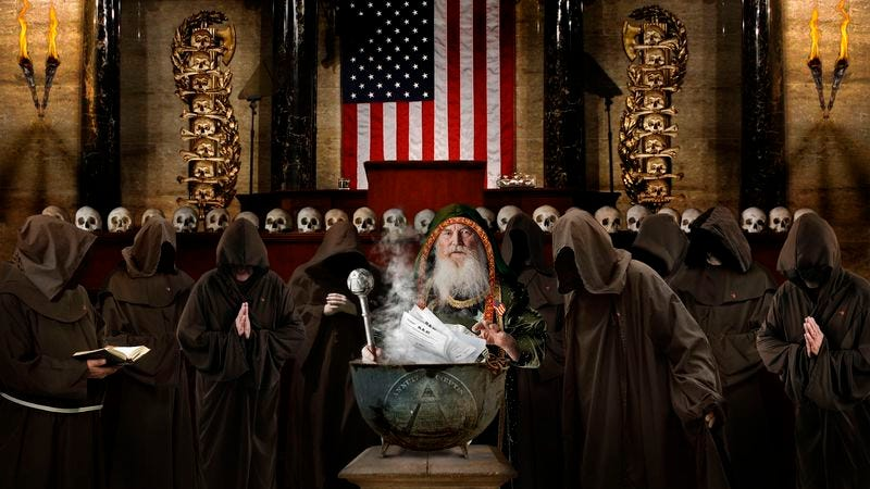 Illustration for article titled Congressional High Priest Concocts Farm Subsidy Bill In Legislative Cauldron