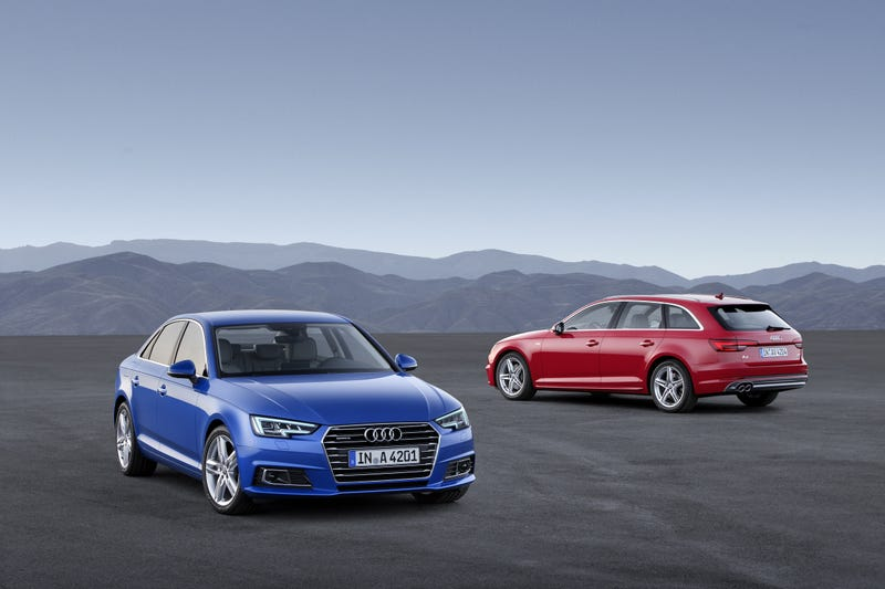 Illustration for article titled New A4 / A4 avant revealed. Thoughts?