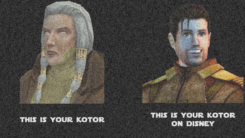 Illustration for article titled Static - This is your KOTOR on Disney
