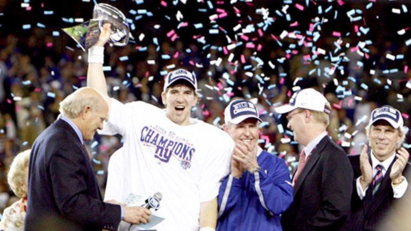 Illustration for article titled Eli Manning Wins Biggest Game Of Tom Brady's Life