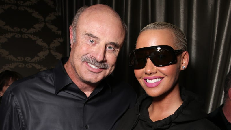 Illustration for article titled Amber Rose Gets Her Chance to Host a Talk Show, Thanks to Dr. Phil