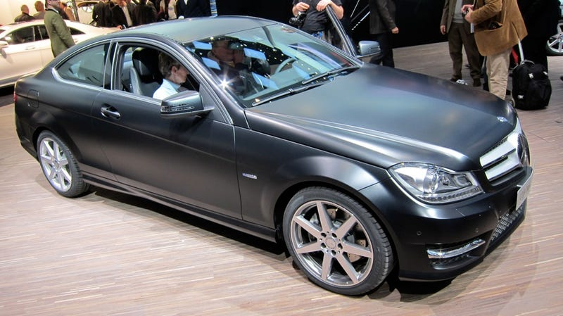 Illustration for article titled Mercedes C-Coupe dips back into two-door reality