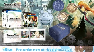 Steins; Gate NA Release Date Set For August 25, 2015, El Psy Kongroo Edition Exclusive to Rice Digital