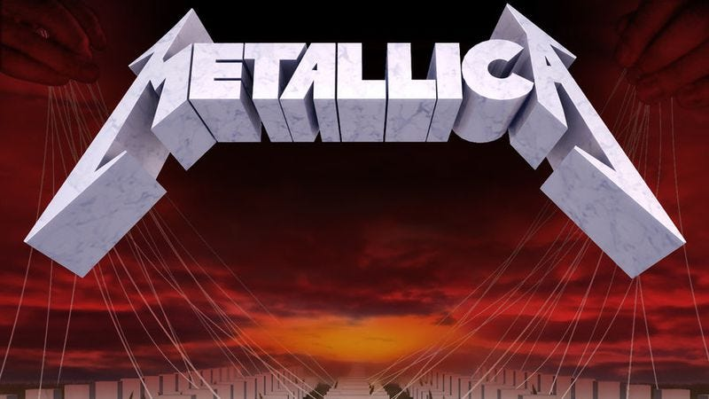 Metallica Mastered Its Craft On Master Of Puppets