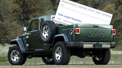 Here's What The 2020 Jeep Gladiator Pickup Looks Like With ...