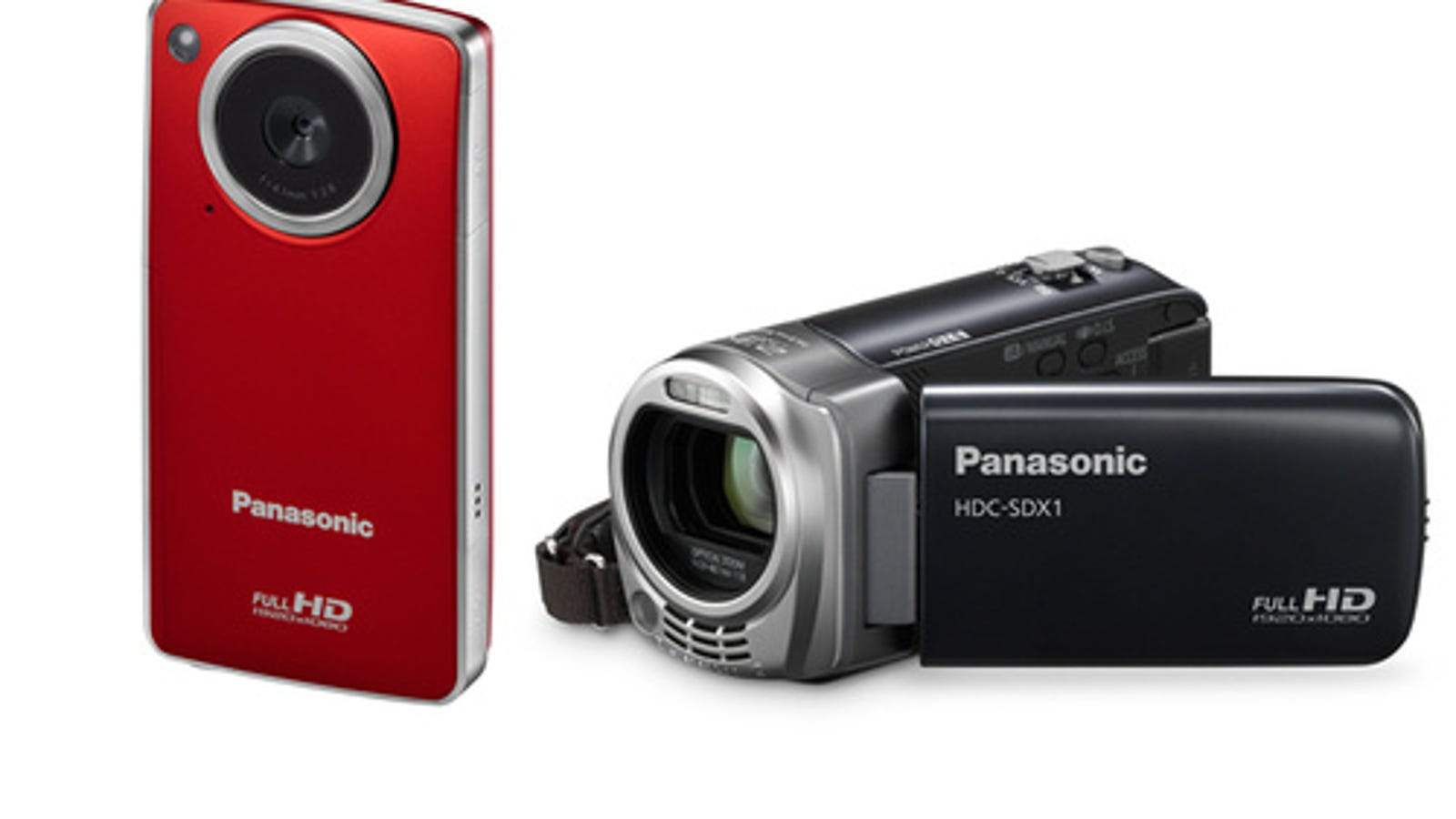 Panasonic's HDC-SDX1 and HM-TA1 HD Camcorders Double as Web Cams