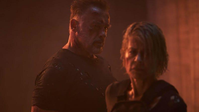 La relación entre este Terminator y Sarah Connor es solo un pedazo de Dark Fate.