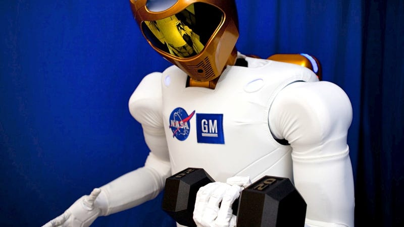 Illustration for article titled NASA to replace astronauts with GM-built humanoid robots