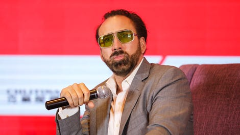 Nicolas Cage On Going Full Nicolas Cage In Mandy Quot It Is