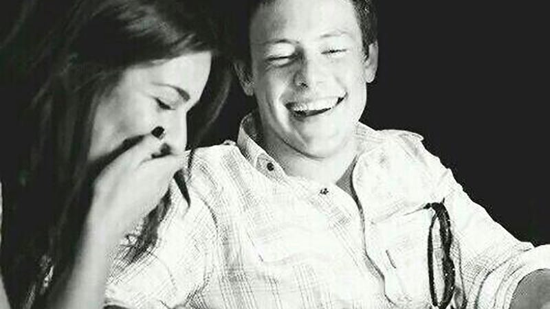 Illustration for article titled Lea Michele Posts Lovely, Heartbreaking Photo Of Cory Monteith