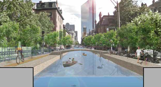 Illustration for article titled Should Boston Become A City Of Canals?