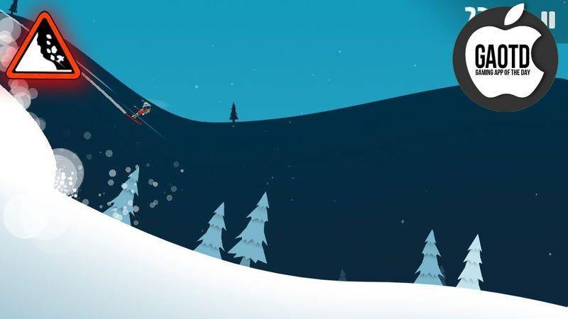 Illustration for article titled I Hate You, Ski Safari. Okay, One More Game.