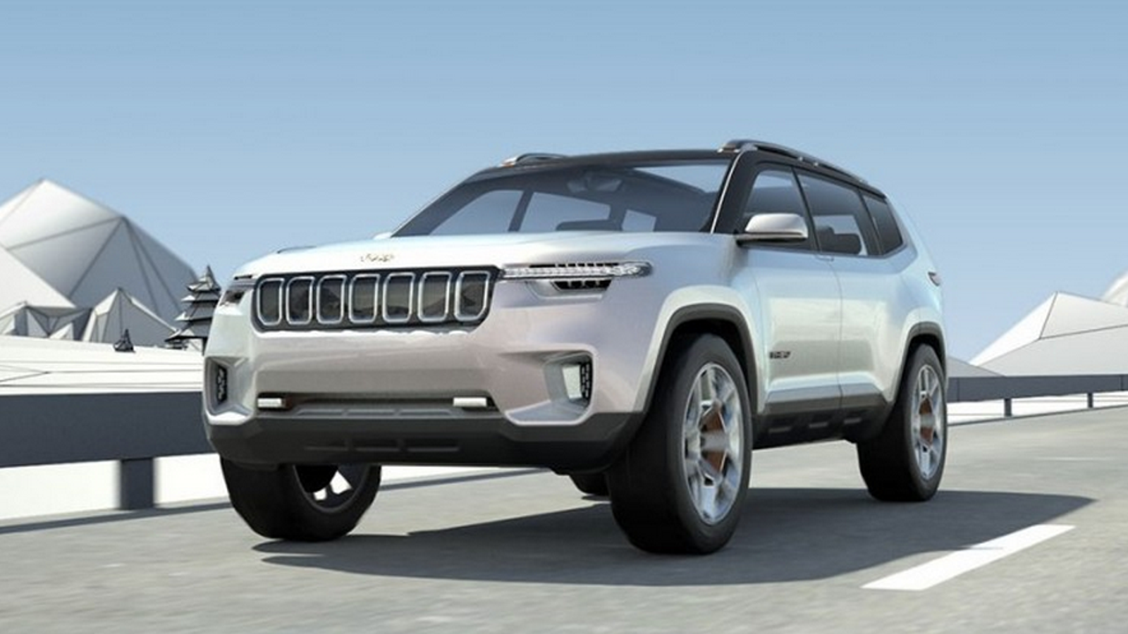 Jeep Cherokee 3Rd Row >> The Jeep Yuntu Concept Could Be The Three Row Jeep The World Yearns For