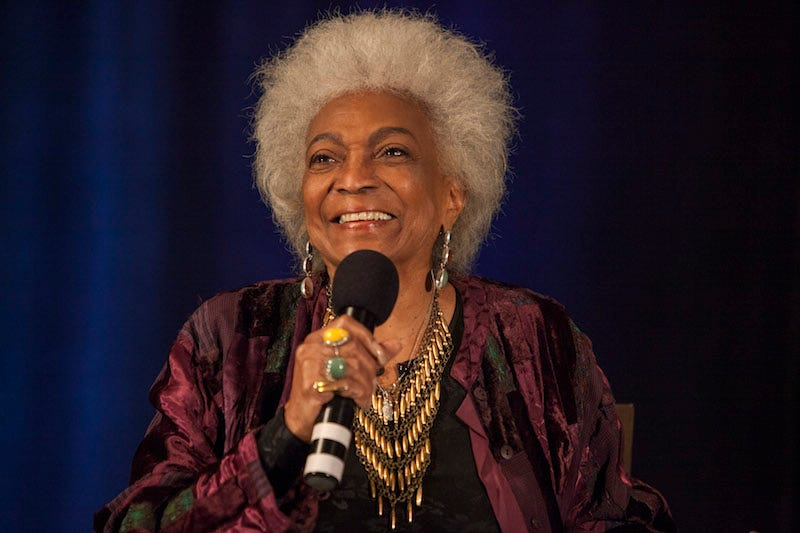 Illustration for article titled Star Trek'sNichelle Nichols Is Heading to the Stars on a NASA Ship