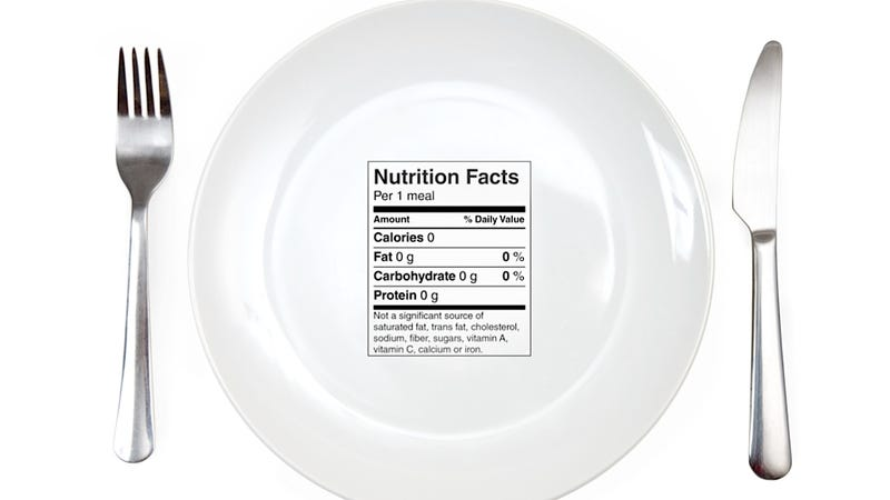 Illustration for article titled Calorie Tallies on Nutrition Labels Are Probably Bullshit, Says Science