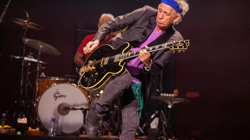 Thieves Take Several Bikes From Keith Richards' Collection