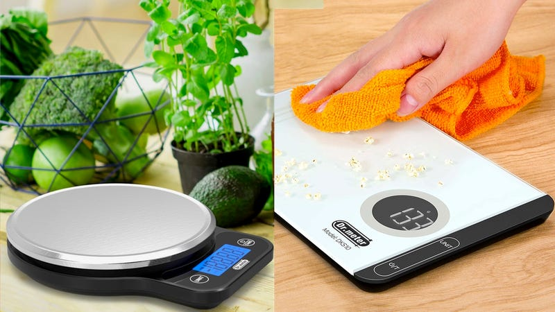 Dr.meter Digital Kitchen Food Scale | $8 | Amazon | Use code XOBNJNS7Dr.meter Digital Touch Kitchen Scale | $8 | Amazon