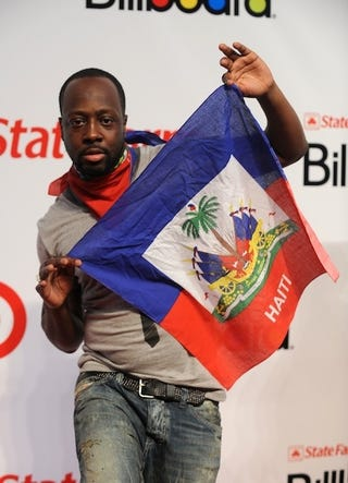 "Illustration for article titled Wyclef Jean Responds To Sean Penn: ""I Have Sweat In My Blood"""