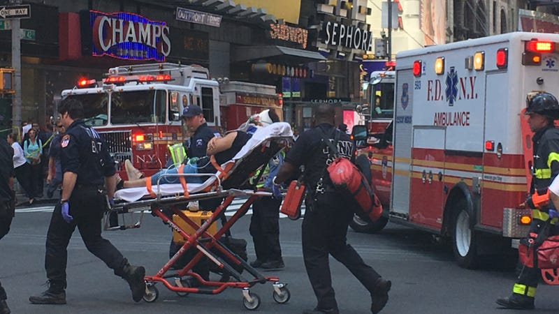 Times Square deadly collision does not seem act of terrorism: NYC Police
