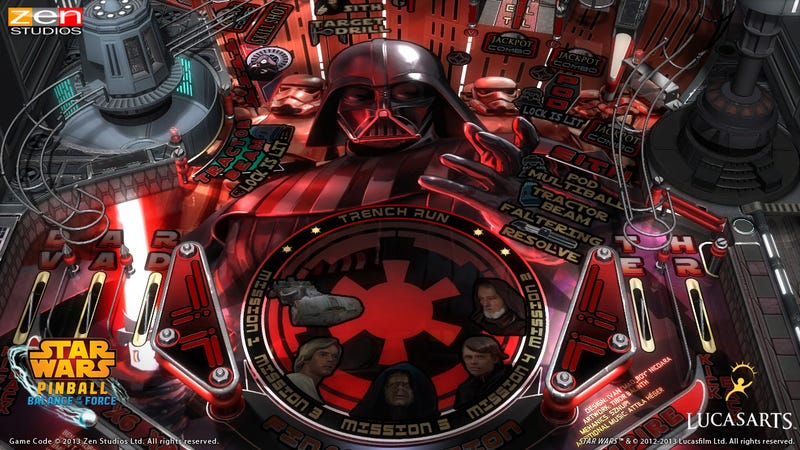 Illustration for article titled The Next Star Wars Pinball Trilogy Might Be Better Than The Last