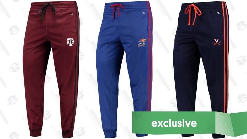 NCAA Joggers | $30 | Fanatics | Promo code KINJA20