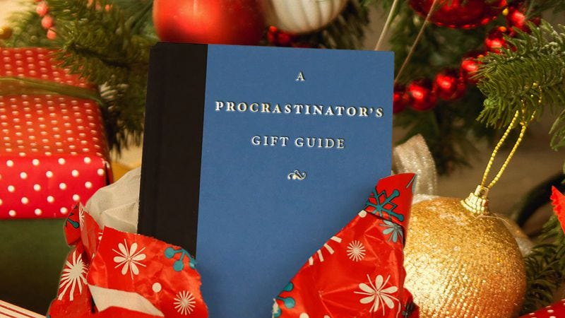 help for the holiday procrastinator 10 gift books that dont say last minute at all