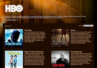 HBO Series Now Available In ITunes