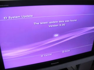 Illustration for article titled PS3 Firmware 3.0 Is Live