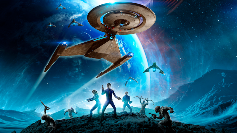 Star Trek Online is boldly going... back to the latest Star Trek show!