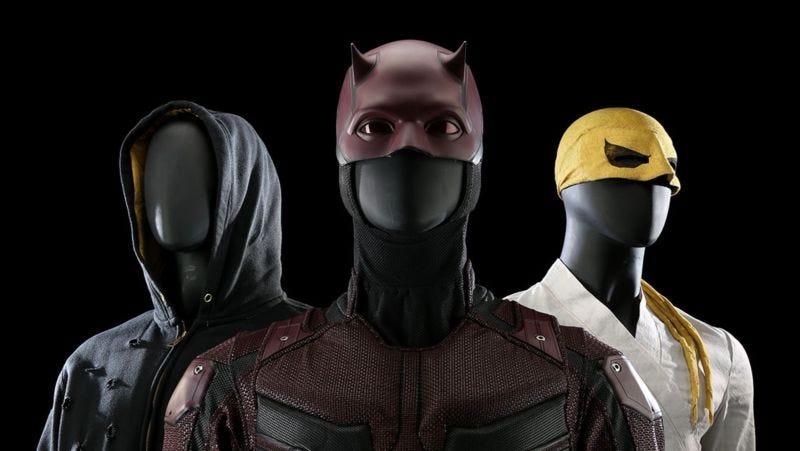 Los trajes originales de Luke Cage, Daredevil y Iron Fist también se subastan.