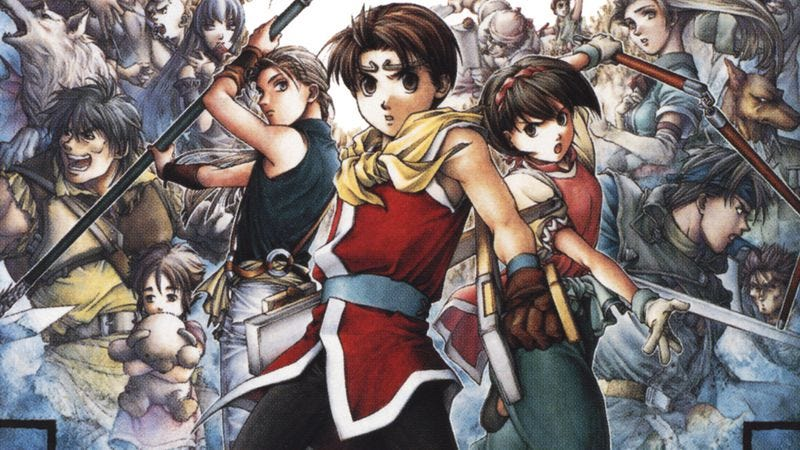 From the cover art of Suikoden II, one of the games demolished during the RPG Limit Break marathon
