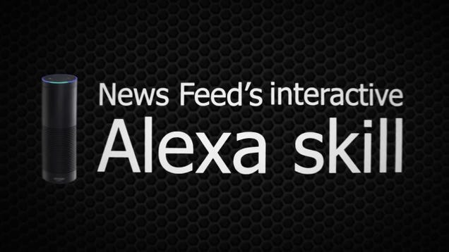 News Feed Adds Interactive Audio News To Amazon Echo Utter Buzz