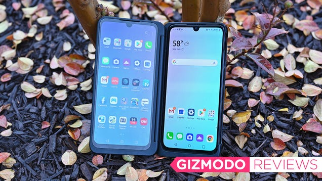 LG s G8X Dual Screen Phone Gives You the Most Screen For Your Money