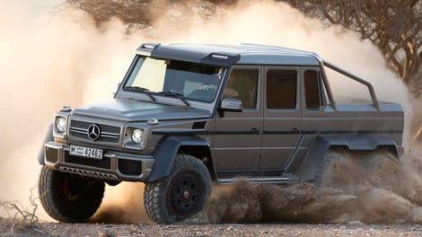 Here Is The Outrageous Mercedes G63 Amg 6x6 In All Its Six Wheeled Glory