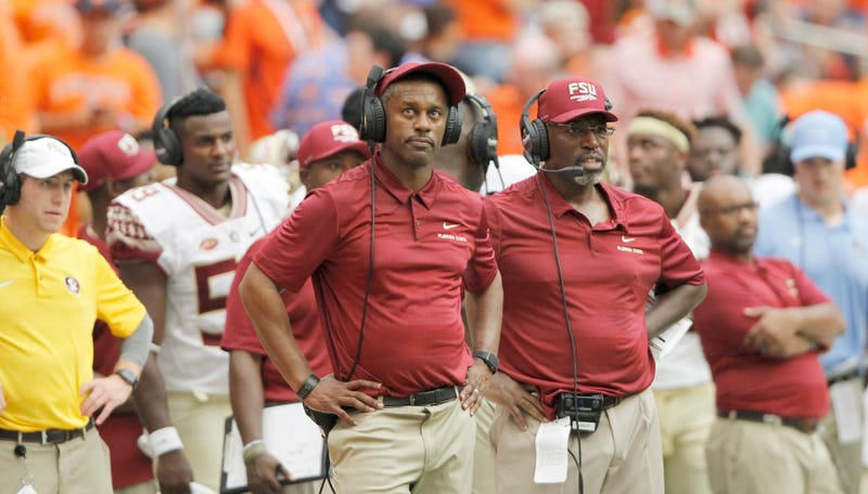 Illustration for article titled Willie Taggart Pleads For Patience After Florida State Gets Boatraced By Syracuse