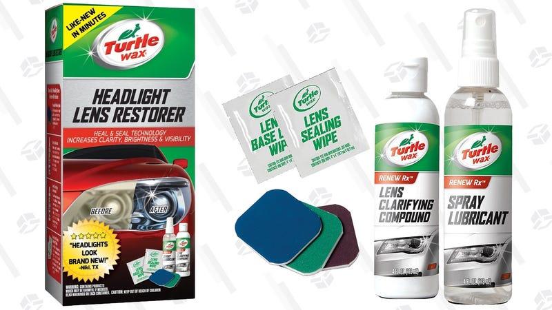 Turtle Wax Headlight Restoration Kit | $5 | Amazon