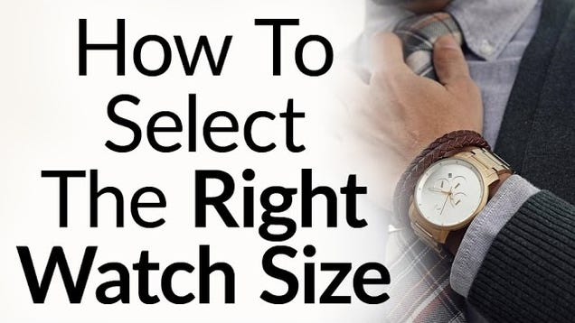 Find the Right Size Watch for Your Wrist With These Tips