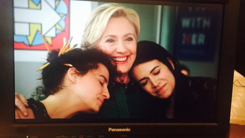 Illustration for article titled Hillary Clinton is going to be on Broad City