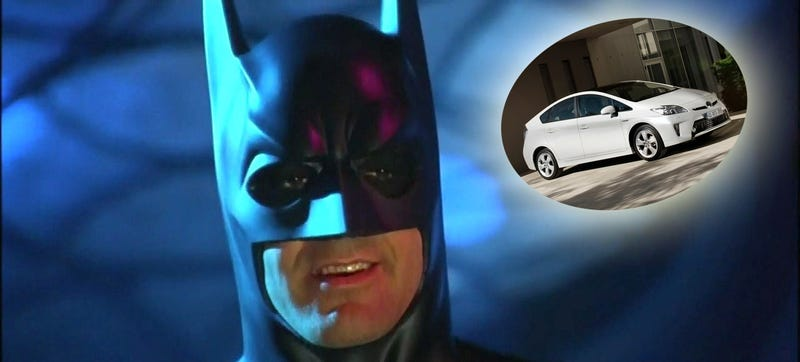 Illustration for article titled Is The New Batmobile A Hybrid?