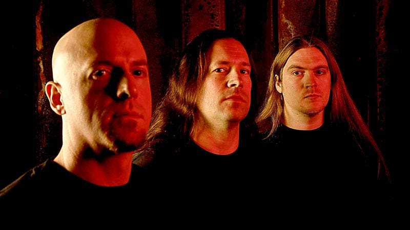 Illustration for article titled Death metal gets literal as Dying Fetus scatters fan's ashes in pit at latest show