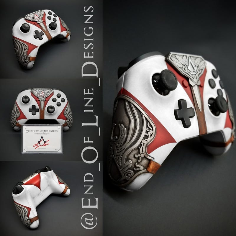 Everything Is Permitted With Assassin S Creed Controllers Kotaku Uk