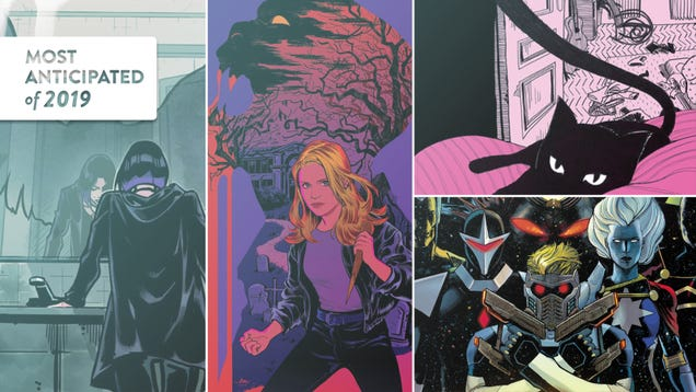 The most anticipated comics of 2019