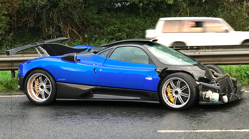 Please Be More Careful When Driving Your Pagani Zonda