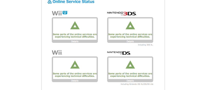Illustration for article titled Nintendo Online Services Broken Now, Continuing Christmas Malfunctions [UPDATE]