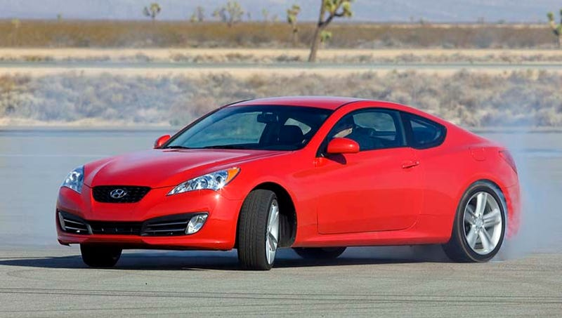 The Hyundai Genesis Coupe With Its Turbocharged 2.0 Liter Four Cylinder  Officially Has 210 HP And 223 Lb Ft Of Torque At The Flywheel, Edmunds  Dynou0027d It And ...