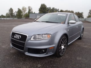 Illustration for article titled I will not buy this RS4. I will not buy this RS4.